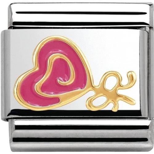 Nomination - Link 18K Gold 'Lizak' 030285/10
