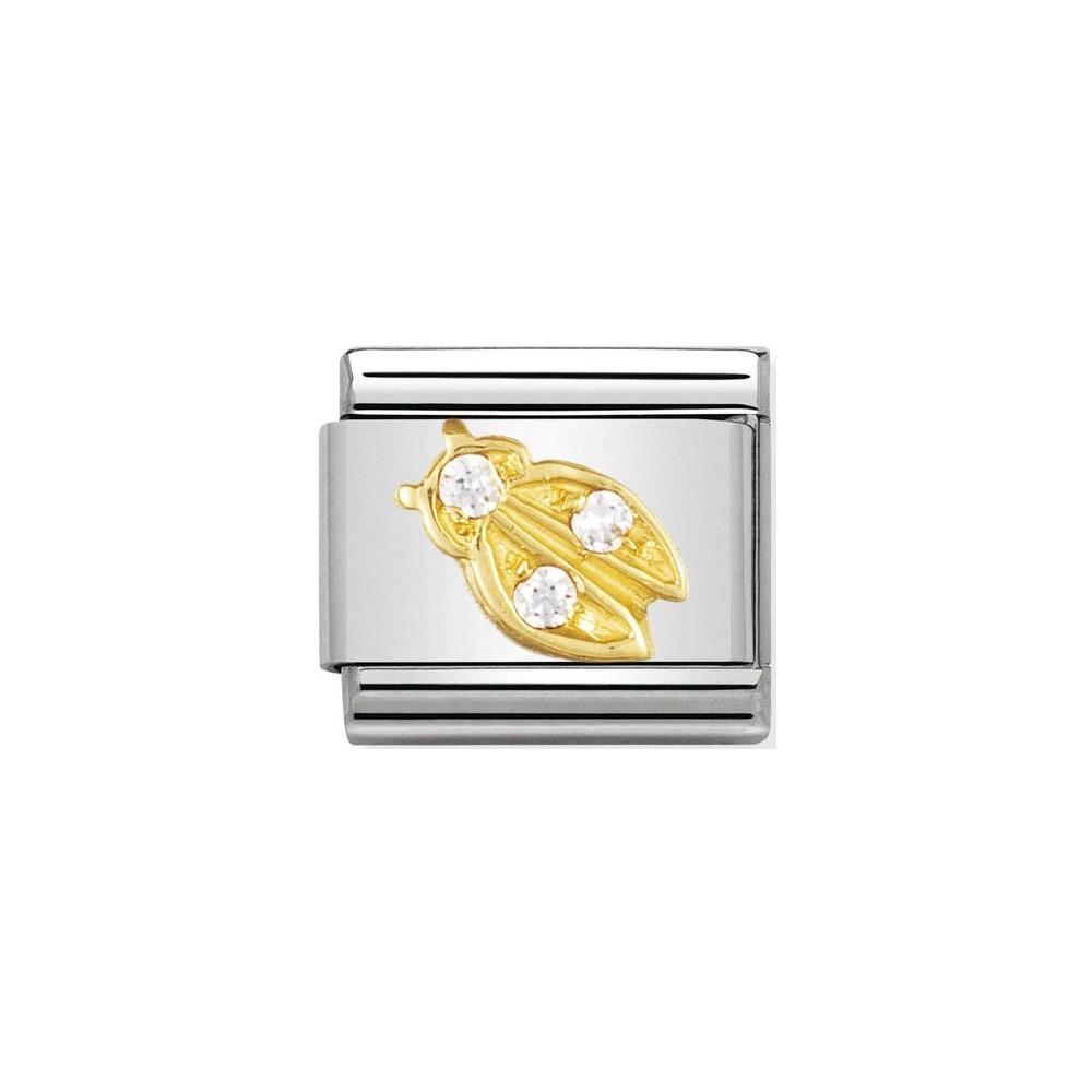Nomination - Link 18K Gold 'Biedronka' 030303/21