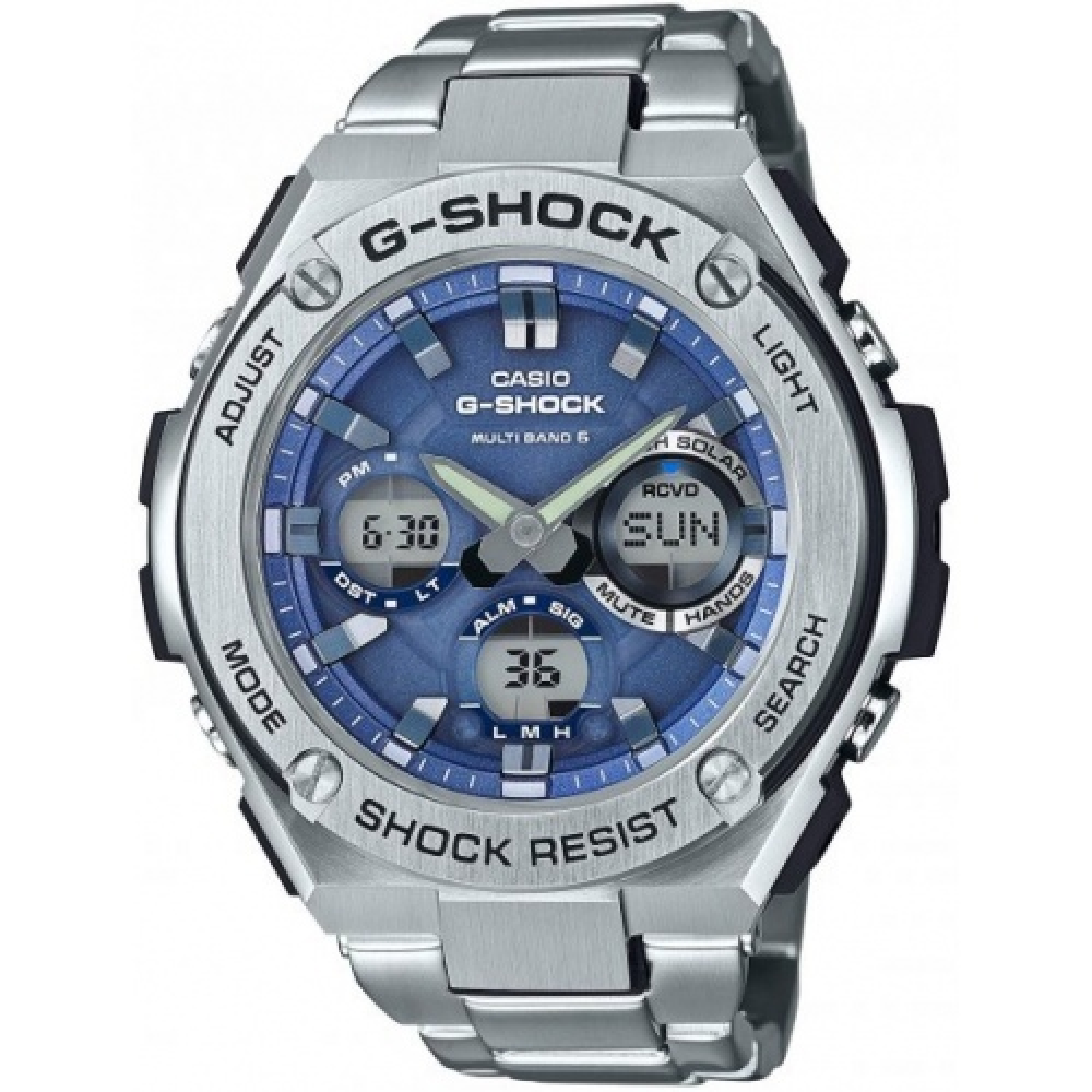 Zegarek Casio G-SHOCK GST-B100D-2AER G-Steel
