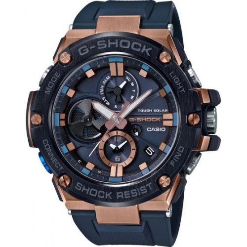 Zegarek Casio G-SHOCK GST-B100G-2AER G-Steel