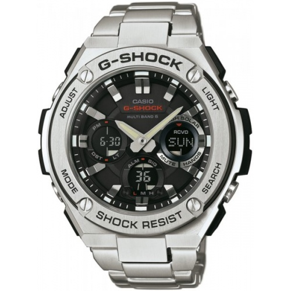 Zegarek Casio G-SHOCK GST-W110D-1AER G-Steel