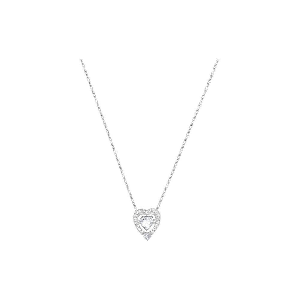 Naszyjnik Swarovski - Swarovski Sparkling Dance Heart Necklace 5272365