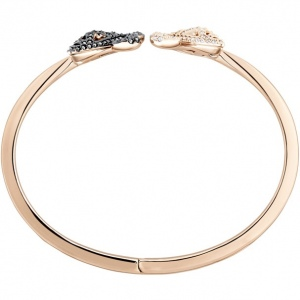 Bransoletka Swarovski - Facet Swan Bangle, Multi-Colored, Mixed Metal Finish 5372918
