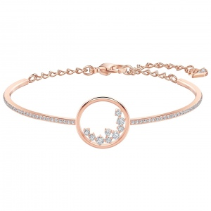 Bransoletka Swarovski - North, Rose Gold 5493393