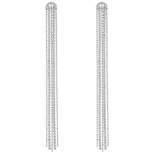 Kolczyki Swarovski - Fit Tassels, Silver 5490190