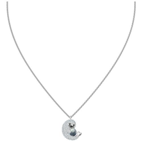 Naszyjnik Swarovski - Polar Bear, Silver 5488193