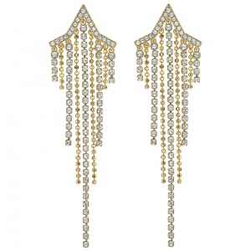 Kolczyki Swarovski - Fit Tassels Star, Gold 5504571