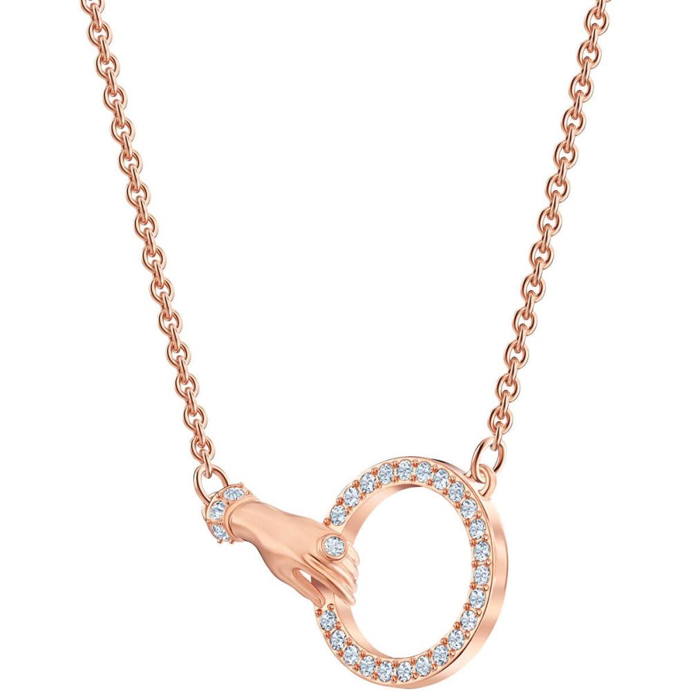 Naszyjnik Swarovski - Symbolic Hand, Rose Gold 5489573