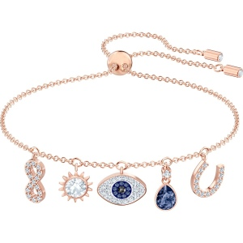 Bransoletka Swarovski - Symbolic Charms, Rose Gold 5497668