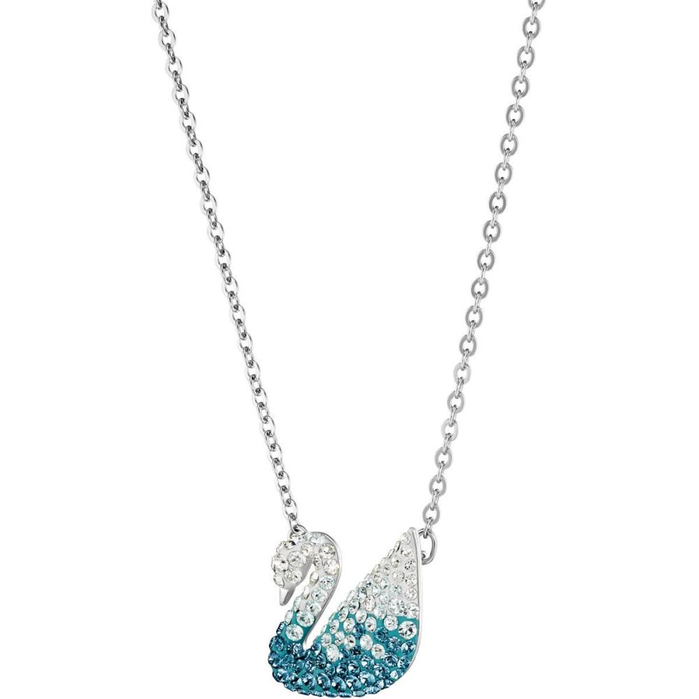 Naszyjnik Swarovski - Iconic Swan Pendant Blue 5512095