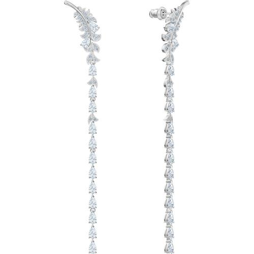 Kolczyki Swarovski - Nice Long, Silver 5493406