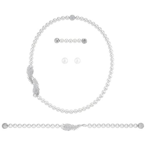 Zestaw Swarovski - Nice Set Pearl 5512380