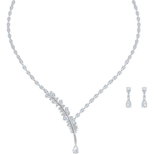 Zestaw Swarovski - Nice Set Y, Silver 5506752