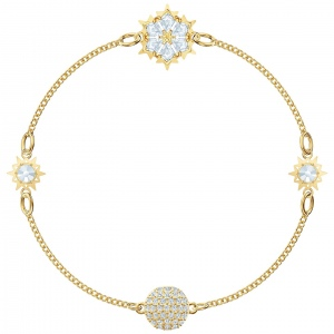 Swarovski - Remix Collection, Snowflake, Gold