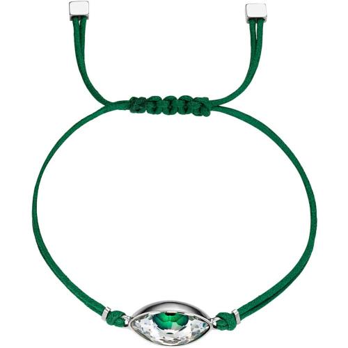Bransoletka Swarovski - Evil Eye, Green 5508535