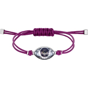 Bransoletka Swarovski - Evil Eye, Purple 5508534