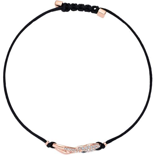 Bransoletka Swarovski - Hook, Black 5494383