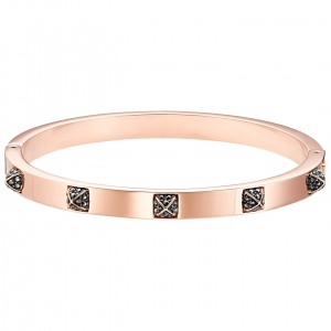 Bransoletka Swarovski - Tactic Bangle, Rose Gold 5497309 M