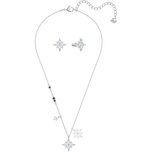 Zestaw Swarovski - Symbol Star Set, White, Silver 5517182