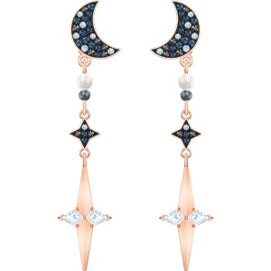 Kolczyki Swarovski - Symbolic Pierced Earring Jackets, Multi-Colored, Rose Gold 5489533