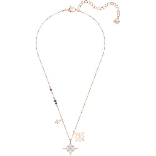 Naszyjnik Swarovski - Symbolic Star Pendant, White, Rose-Gold 5494352