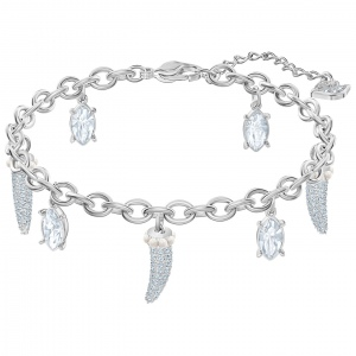 Bransoletka Swarovski - Polar Bestiary Teeth, Silver 5501007