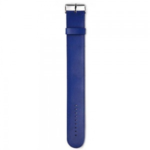 Pasek STAMPS - Classic Leather Blue 100003/2700