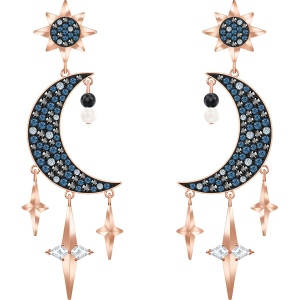 Kolczyki Swarovski - Symbolic Pierced Earrings, Multi-Colored, Rose Gold 5489536