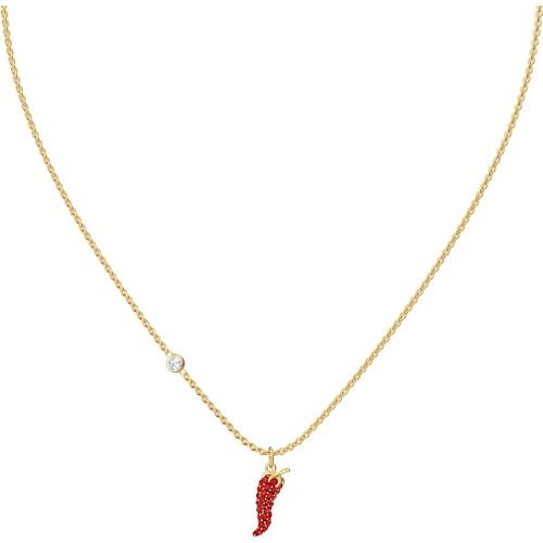 Naszyjnik Swarovski - Lisabel Pepper Pendant, Red, Gold 5510531