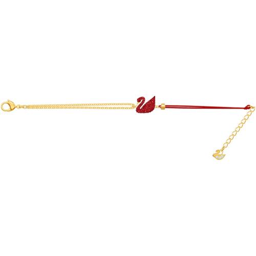 Bransoletka Swarovski - Iconic Swan, Gold 5465403