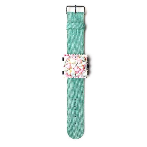 Pasek STAMPS - Denim Mint Green 100621-3200