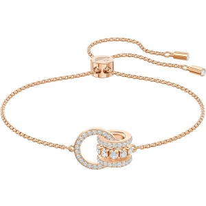 Bransoletka Swarovski - Further, Rose Gold 5501092