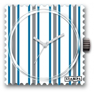 Zegarek STAMPS - White Lines - WR 103016
