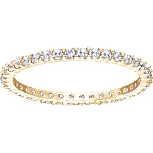 Pierścionek Swarovski - Vittore Ring, White, Gold