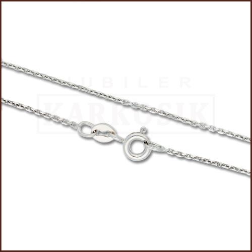 Srebrny łańcuszek - Ankier 40cm pr.925