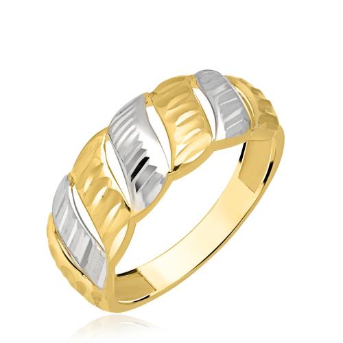 Złoty pierścionek pr.333