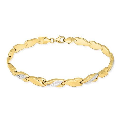 Złota bransoletka 19cm pr. 595