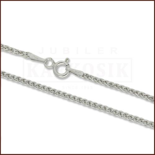 Srebrny łańcuszek - Lisi Ogon 60cm pr.925