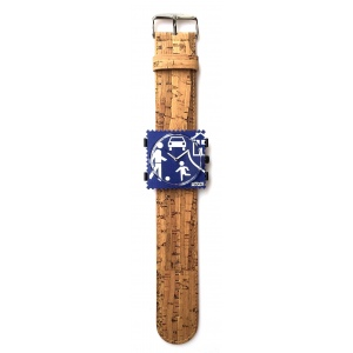 Pasek STAMPS - Classic Cork Bamboo 103611/5000