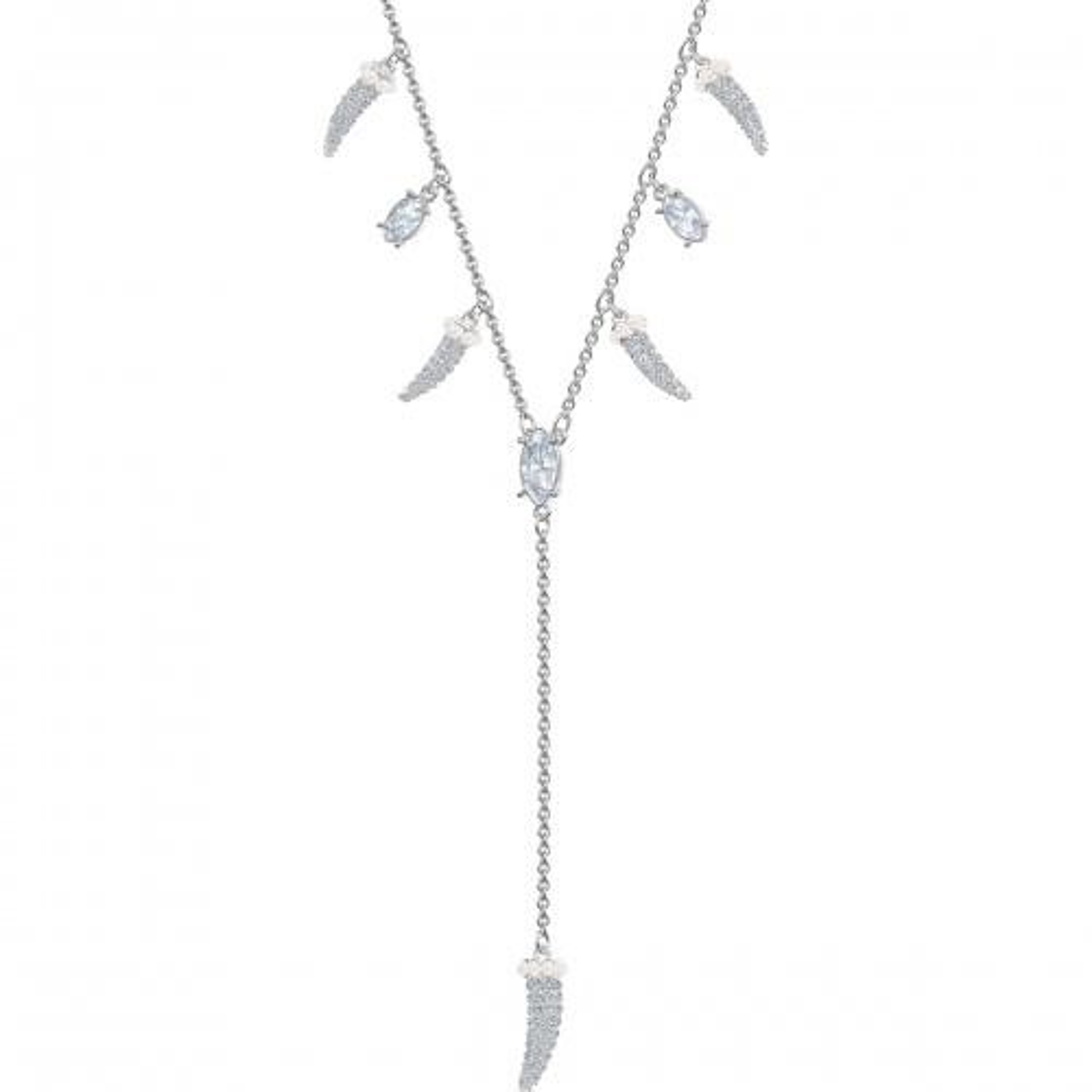 Naszyjnik Swarovski - Polar Bestiary Pendant teeth, Silver 5499631