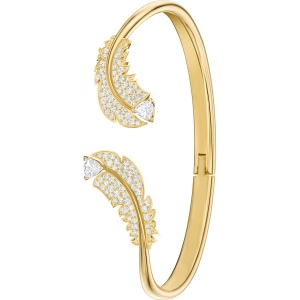 Bransoletka Swarovski - Nice Bangle, Gold 5515019 S