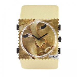 Bransoleta STAMPS - Belta Metallic Gold 1321040