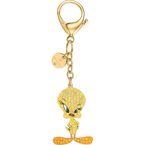 Brelok Swarovski - Looney Tunes Tweety Bag Charm, Yellow 5494437