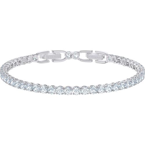 Bransoletka Swarovski - Tennis Deluxe, Silver Rhodium Plated 5513401