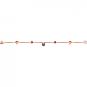SWAROVSKI - Remix Collection Minnie Strand, Multi-colored, Rose gold 5470625 L