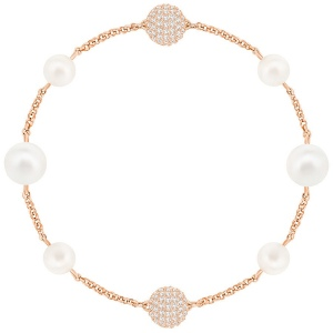 Bransoletka SWAROVSKI - Remix Collection, Mixed White, Rose gold 5365738