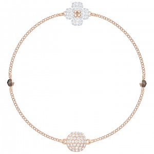Bransoletka SWAROVSKI - Remix Collection, Rose gold 5375185