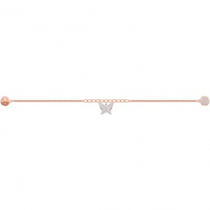 Swarovski - Remix Collection Lilia Strand, White, Rose-Gold Tone Plated 5479014