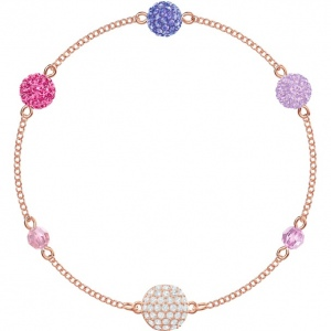 Swarovski - Remix Collection Pop Strand, Purple, Rose-Gold Tone Plated 5479010