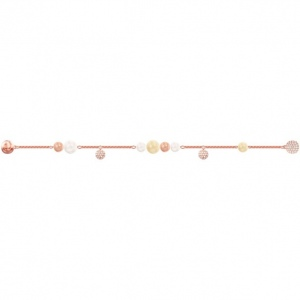 Swarovski - Remix Collection Pearl Strand, Multi-colored, Rose-Gold Tone Plated 5479013